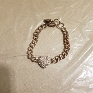 Super cute Guess charm bracelet